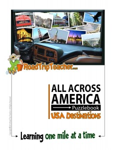 Cover Across America Puzzlebook