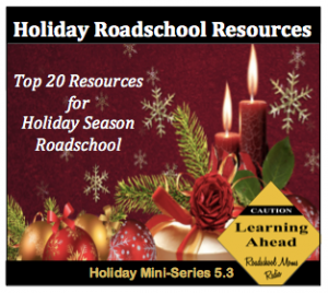 Holiday Roadschool Show Button